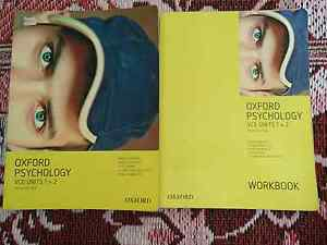 Oxford Psychology VCE  Units 1 & 2, textbook & workbook Berwick Casey Area Preview