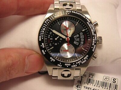 Tissot PRS 516 T-SPORT LE Automatic Chronograph Watch Valjoux 7750 T021414A
