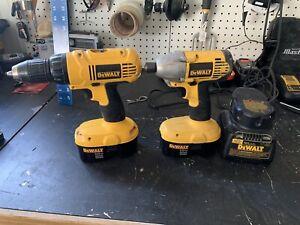 Dewalt 18V Drill and Driver set