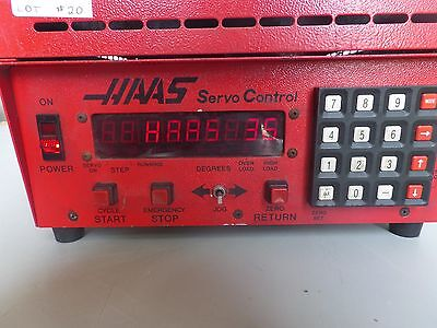Haas Control Box Software-36 Brush 17 Pin Rotary Table Indexer Lot 20