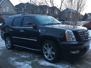 2007 black Cadillac Escalade