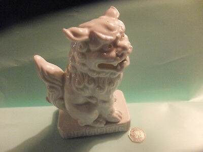 CHINESE DOG ceramic