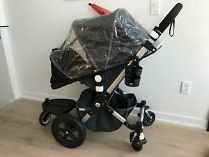 Bugaboo Cameleon 3-107 Denim Special Edition with Bassinet