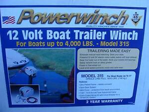 BOAT TRAILER WINCH Frenchs Forest Warringah Area Preview