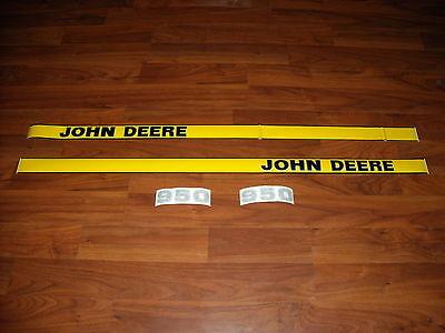 John Deere 950 Tractor Decal Set