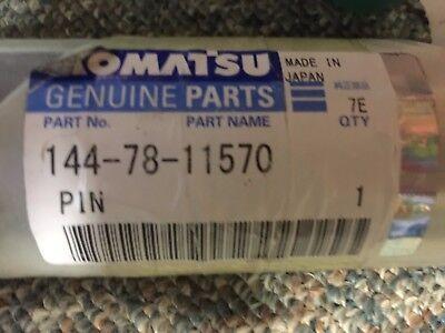 144-78-11570 Komatsu Pin New