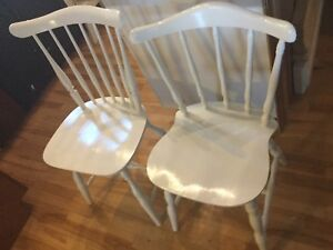 Mix and match chairs- available