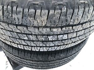 265/70/17 Goodyear tires set of 4