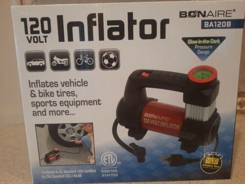 bonaire 120v tire inflator direct drive motor