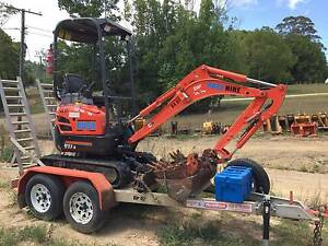 EXCAVATOR, BOBCAT & OTHER PLANT FOR DRY HIRE Mooloolaba Maroochydore Area Preview