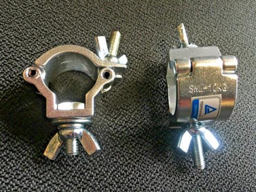 2 pcs Mini Half Cheeseborough Truss Clamp 1/2 cheeseboro trussing pipe 18mm