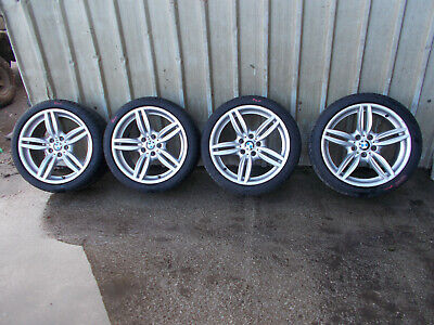 "BMW 6 SERIES F12 F13 M SPORT STYLE 351 SET OF 4 19"" ALLOY WHEELS WITH TYRES"