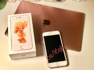 iPhone 6s 16gb Rose Gold Unlocked w/2 Cases $300 OBO