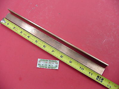 2 Pieces 18 X 34 C110 Copper Bar 12 Long Solid Flat Mill Bus Bar Stock H02