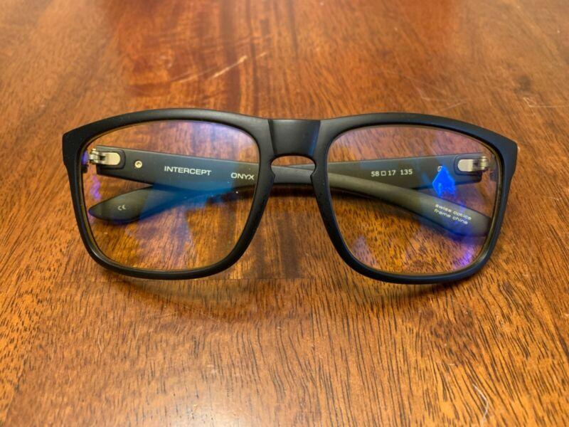 GUNNAR Optiks Int-00101 Intercept Full Rim Advanced Video Gaming Glasses