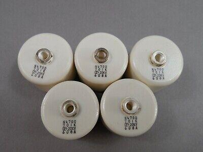 Lot Of 5 Murata 701pf Doorknob N4700 701k Capacitor 20kv