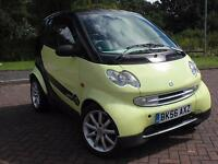 SMART FORTWO PURE AUTO 2006 56 REG £30 YEAR ROAD TAX