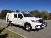 Toyota Hilux SR 4/2, manual, diesel Karrinyup Stirling Area Preview