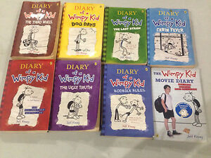 Diary of Wimpy kid book set - 8 books Maryland Newcastle Area Preview