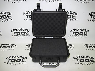 Black 10.5 Weatherproof Equipment Case 4 Trimble Tds Recon 400 400x 200 200x