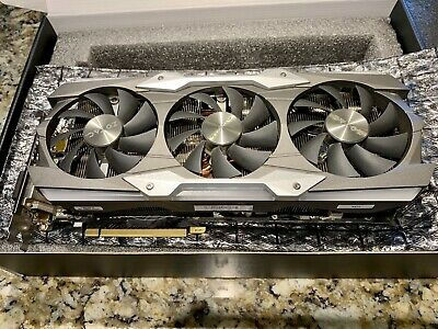 ZOTAC NVIDIA GeForce GTX 1080 TI Amp Extreme Core Edition 11gb + Orig Box & Extr