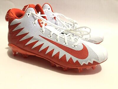 9ff6d46ffbe6 🚨New Mens Nike Alpha Menace Pro Sz12.5 Football Cleats White Orange