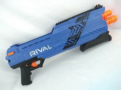 Hasbro Nerf Rival Atlas XVI-1200 Ball Gun - Blue - 2015 - Tested & Working