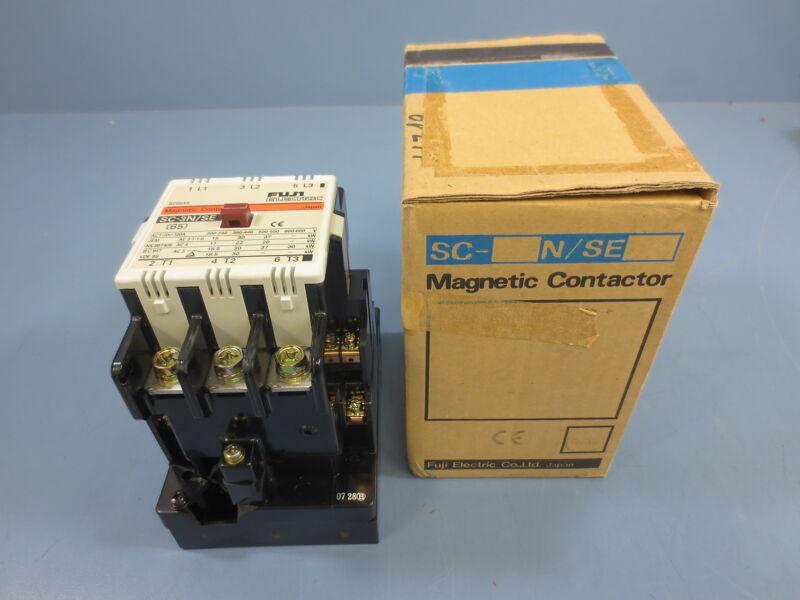 Fuji Electric SC-3N/SE Magnetic Contactor 200-220V Vdc