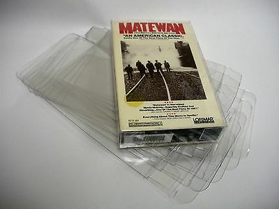 10 Clear Beta Max Movie Cassette Box Protectors - Custom Fit - Acid-Free!