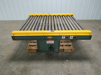 Hytrol 47-12w X 60l 5 Live Powered Pallet Case Roller Conveyor Qty Available