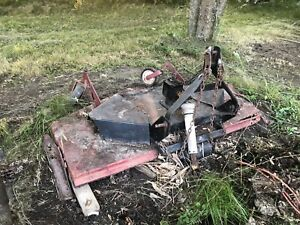 Bush hog 6ft finish cut mower