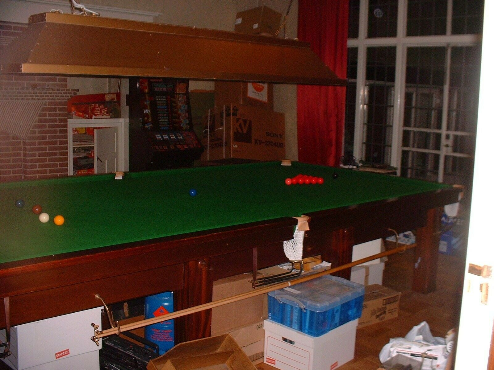 Thurston Snooker Table Full Size