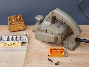 Towa planer Model L-120 with spare blades, carbon brushes Bexley Rockdale Area Preview