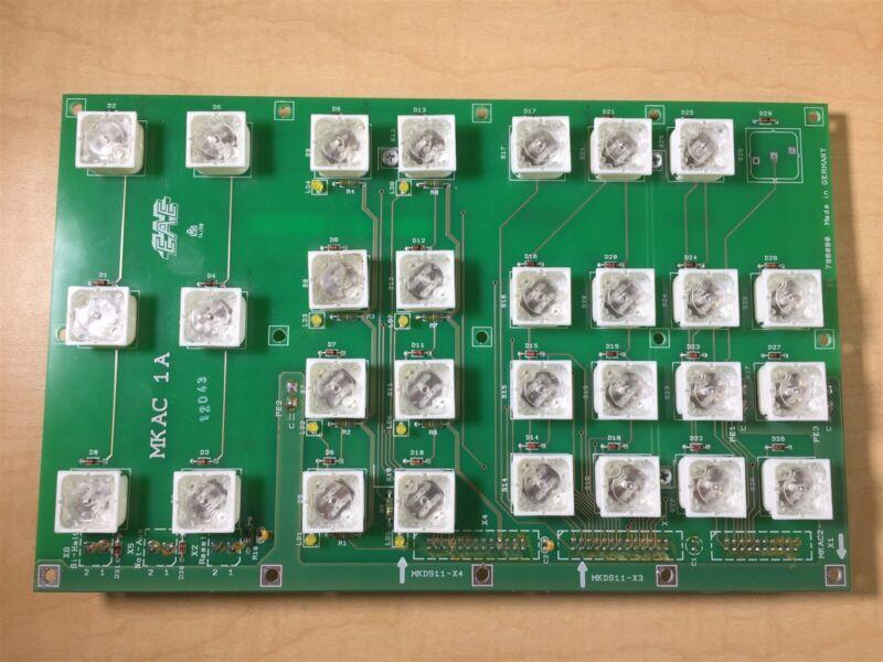 Ewert Ahrensburg Electronic EAE BS 798080 MKAC 1A Control Panel Switchboard U8