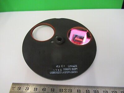 Optical Mil Spec Filter Lenses Wheel Laser Optics As Pictured 18-a-49