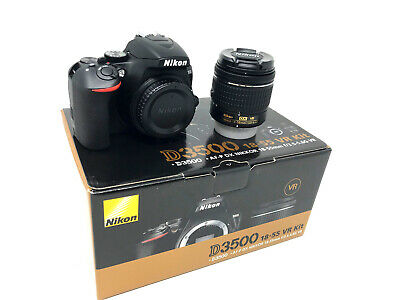 Nikon D3500 Camera + AF-P 18-55mm VR - UK NEXT DAY DELIVERY