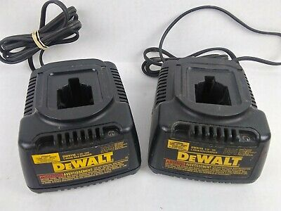 Dewalt Battery Chargers 7.2 - 18v Dw9116 Qty 2