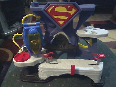 DC Super Friends Imaginext Superman Fortress Of Solitude Playset FISHER PRICE