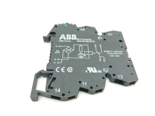 ABB 1SNA645005R0700 5 Slot Din Rail Power Relay 24VAC/DC