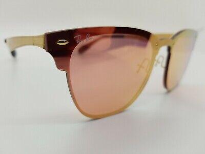 Ray Ban Blaze Cat Eye RB3580-N 043/E4 Sunglasses Eyeglasses Red Gold (Ray Ban Sunglasses Cat Eye)
