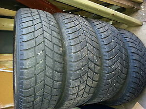 "14"" Winter tires on rims,balanced and for sale."