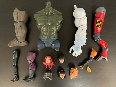 Marvel Legends Various Build A Figure (BAF) Parts Rhino, Stepford, & More
