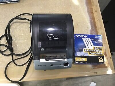 Brother P-touch Ql-500 Thermal Transfer Printer - Monochrome - Label Printer