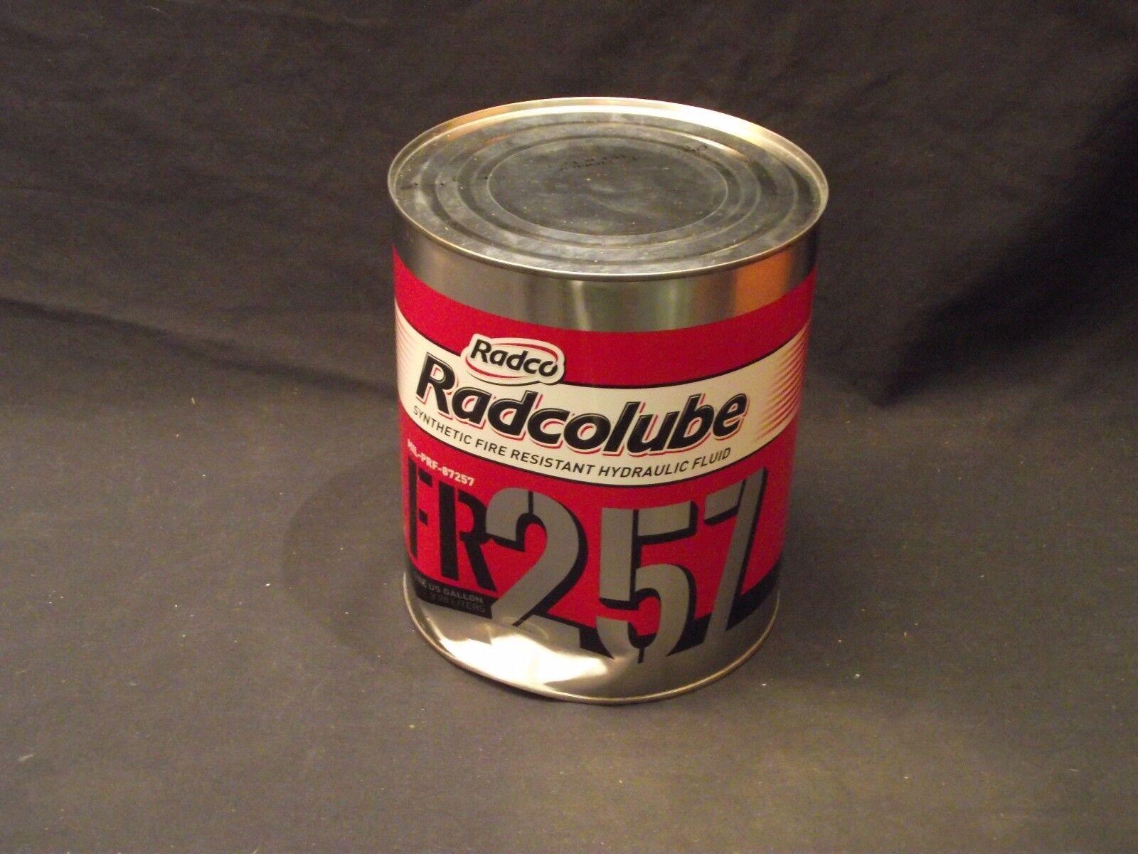RADCOLUBE FR287 synthetic fire resistant Hydraulic fluid aviation  mfg 11/15