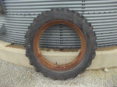 Firestone 12.4 X 38 Tire 95 Ih Farmall H Sh M Sm Mta Tractor Rim Jd A B