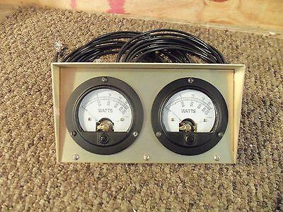 Bird 43 Thruline Watt Meter Dual Meter / RMS / New Gold