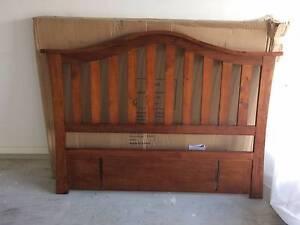 Unused Wooden Queen Headboard with Original Packing for sale Doonside Blacktown Area Preview