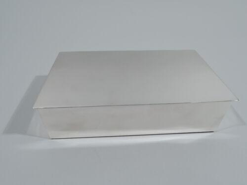 Tiffany Box - 23326 - Midcentury Modern Desk - American Sterling Silver