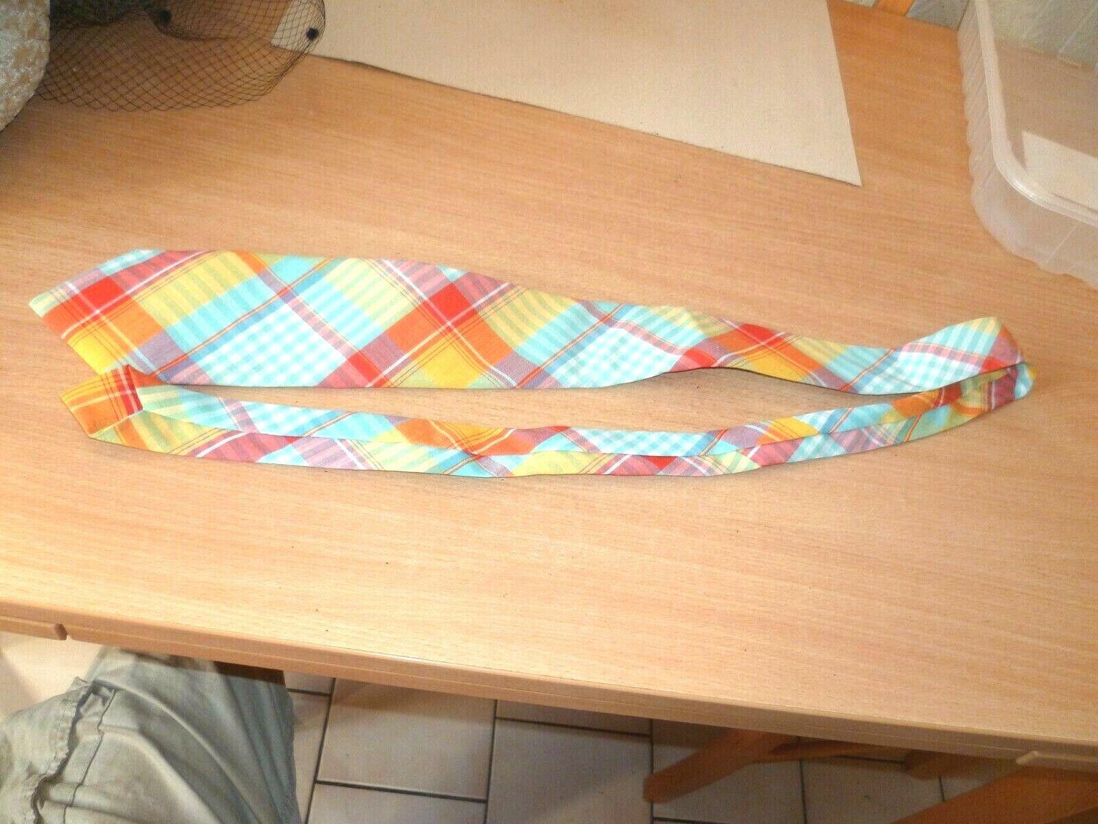 (gar)  superbe cravate vintage polyester melange