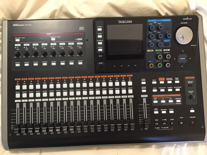 TASCAM DP-24 Digital Portastudio 24 Multi-Track Audio Recorder, Free Shipping